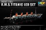 RMS Titanic z oświetleniem Led - Multi Color Parts
