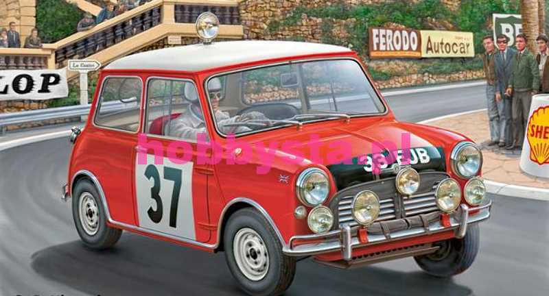 Mini Cooper Winner Rally Monte Carlo 1964 Zestaw